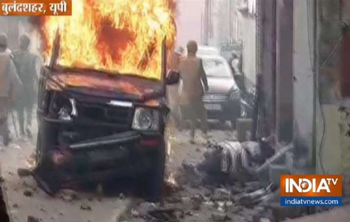 Bulandshahr violence, violence in Bulandshahr, uttar pradesh protests, anti-caa protests, police jee