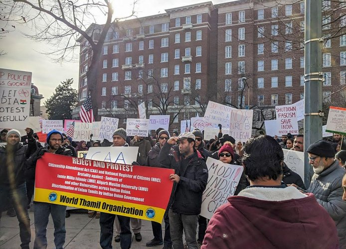 Indian-Americans hold rallies in support of CAA, NRC in US