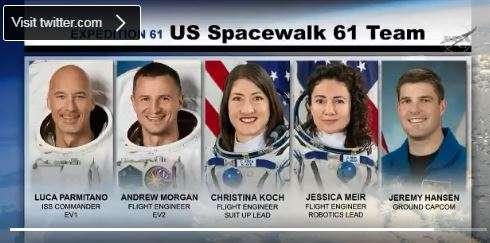 Watch NASA astronauts perform live repair spacewalk at the