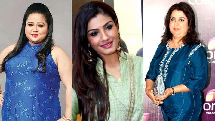 Another FIR filed against Raveena Tandon, Farah Khan and Bharti Singh: raveena tandon, farah khan