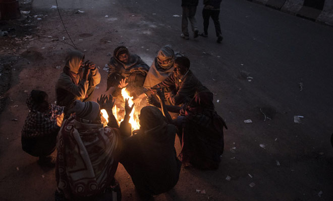 Minus 15.6 degrees Celsius in Leh, temperature dropping in several parts of north India