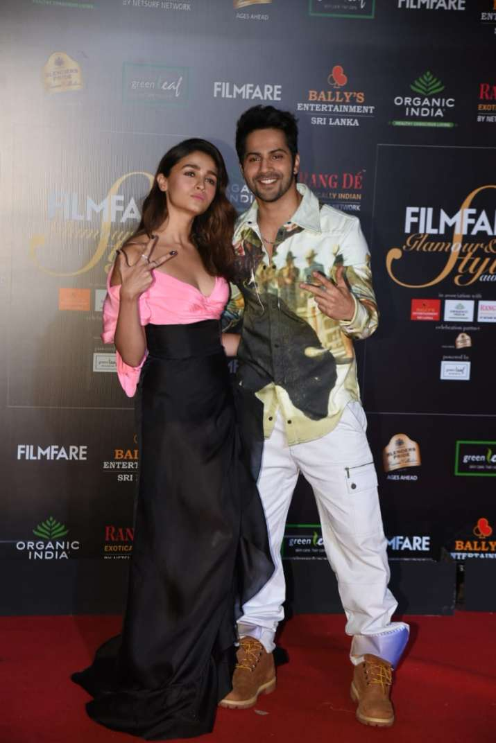 India Tv - Alia Bhatt and Varun Dhawan