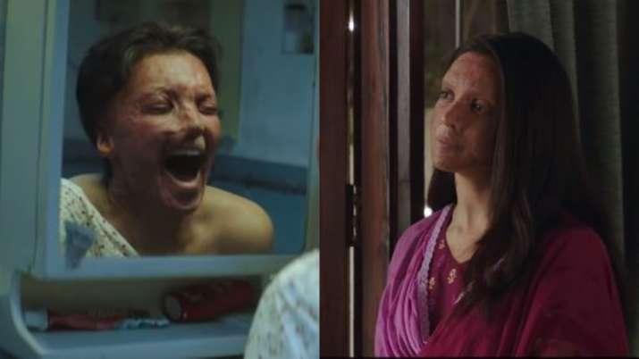 Deepika Padukone as Malti shows horrifying struggle of acid-attack victims in Chhapaak trailer. Watc