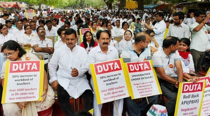 DU teachers' association to go on indefinite strike from