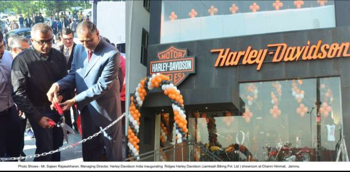 India Tv - Harley Davidson opens first dealership in Jammu and Kashmir
