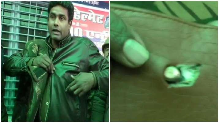 Wallet saves Faridabad cop's life during CAA protest
