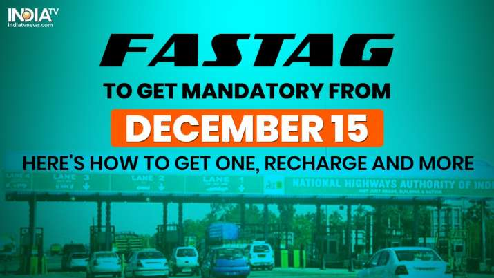 FASTag 15 december, FASTag last date, FASTag penalty, FASTag latest news, FASTag,HDFC Bank FASTag,IC