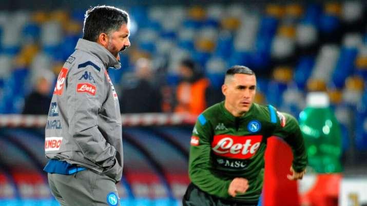 Serie A Parma Spoils Gennaro Gattuso S Napoli Debut With 2 1 Win Football News India Tv