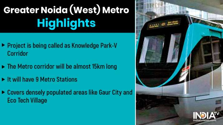 Metro to Noida Extension Knowledge Park-V approved