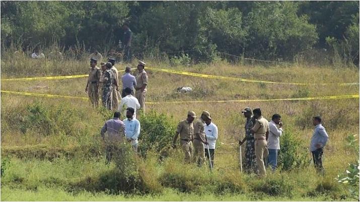 Case filed against four dead Hyderabad vet rape accused for