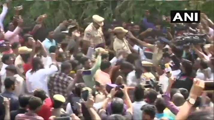 India Tv - Hyderabad rape accused killed