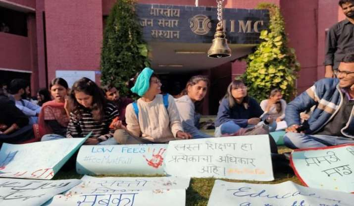 IIMC students demand fee hike rollback