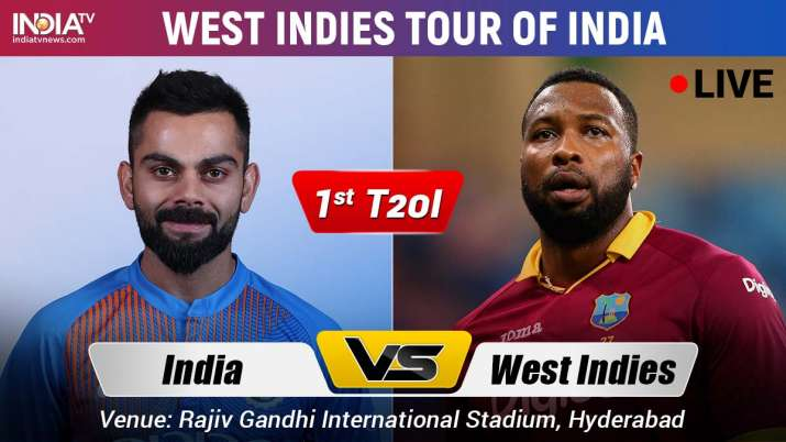 Live Cricket Streaming India vs West Indies 2019 Live Match Stream 1st t20i when and Where to Watch
