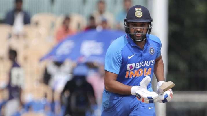 Rohit Sharma india vs west indies 3rd odi