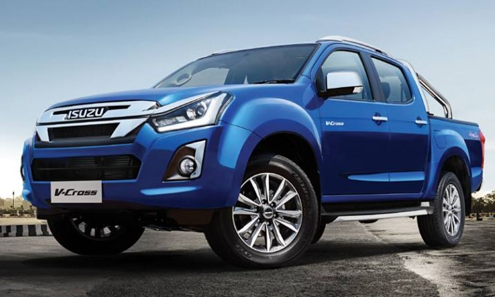 India Tv - Isuzu D-Max V-Cross
