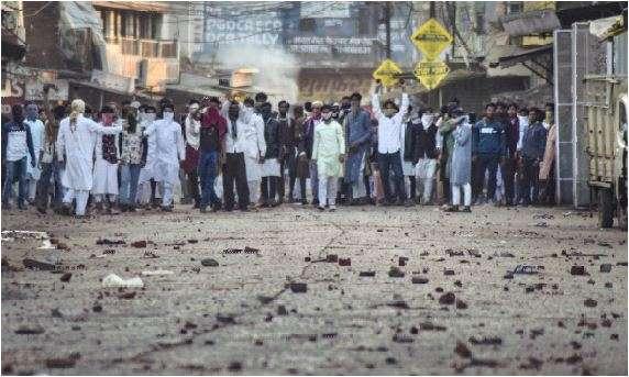 India Tv - Protest in Jabalpur