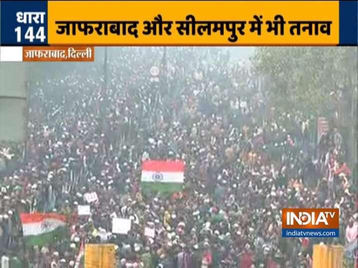 India Tv - Protestst in Jafrabad
