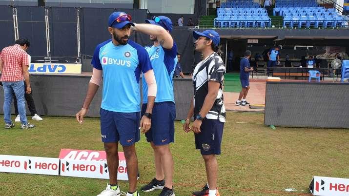 Latet Cricket India vs West Indies jasprit Bumrah joins Team India Training at visakhapatnam, Jaspri
