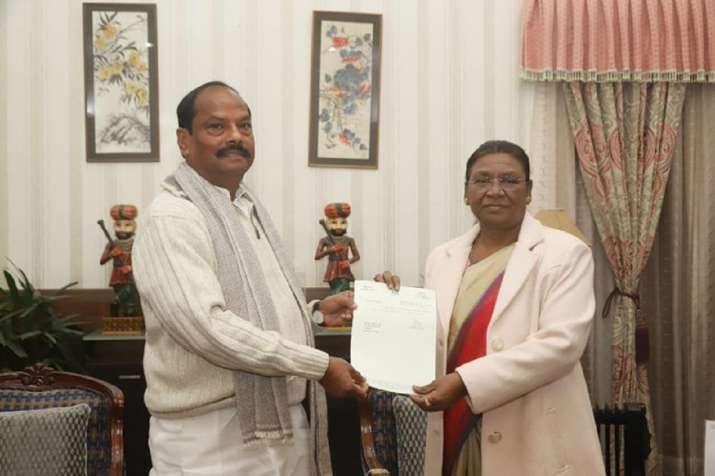 The outgoing chief minister of Jharkhand, Raghubar Das,