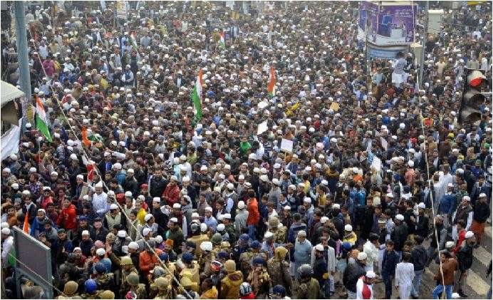 India Tv - Protest in Kanpur