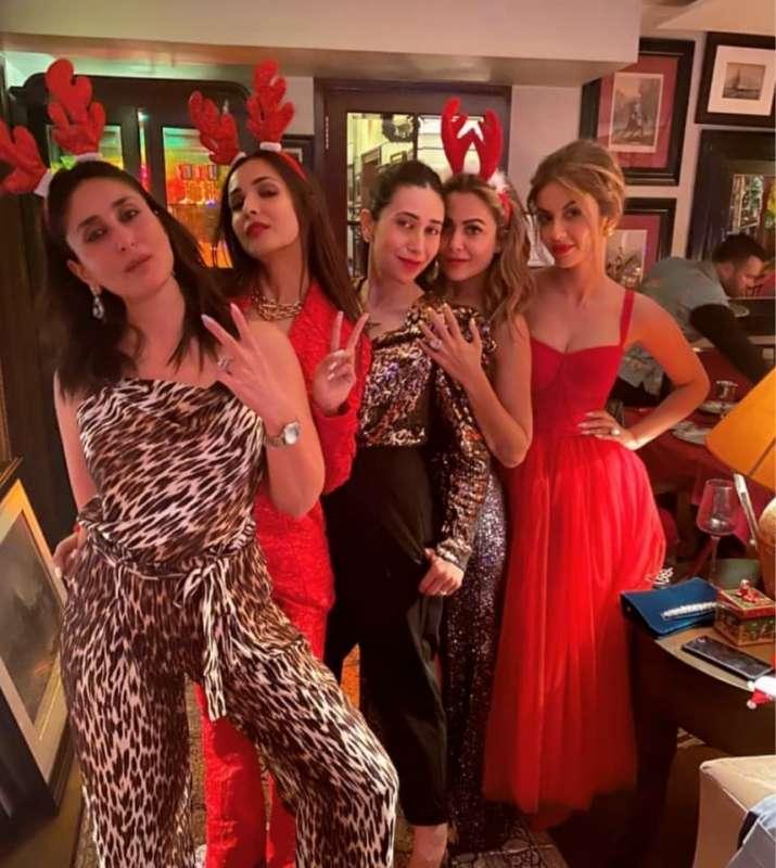 Image result for Kareena Kapoor Christmas Bash PICS: Karan Johar - Saif Ali Khan, Ranbir-Alia, Sara-Ibrahim & Other Celebs Have A Gala Time!