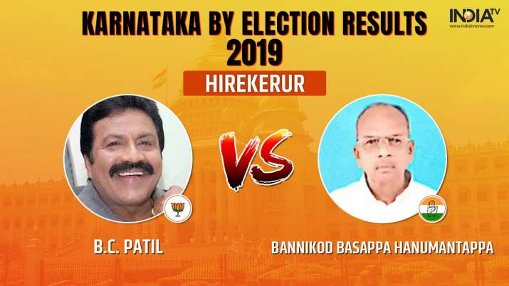 Karnataka Legislative Assembly by-election 2019 Hirekerur results counting of votes