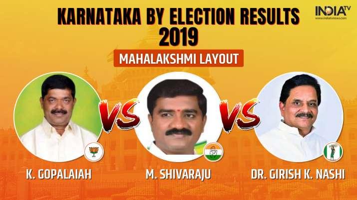 Karnataka by-election 2019 Results Mahalakshmi Layout: