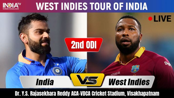 India vs West Indies, Live Streaming Cricket, 2nd ODI: Watch IND vs WI Live on Hotstar and Star Spor