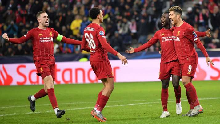 Champions League: Defending champions Liverpool beat Salzburg 2-0 to advance in Round of 16