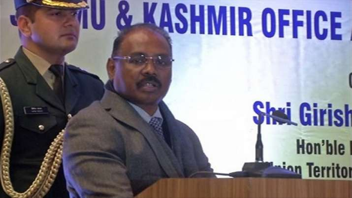 gc murmu resigns,breaking news gc murmu,LT GOVERNOR G C MURMU,Jammu and kashmir,JK Reorganization Bi