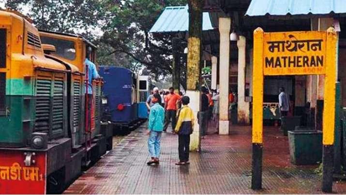 Matheran toy train news mumbai latest news