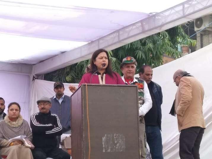 BJP MP Meenakashi Lekhi attacks opposition over CAA, NRC; releases 'Aarop Patra'