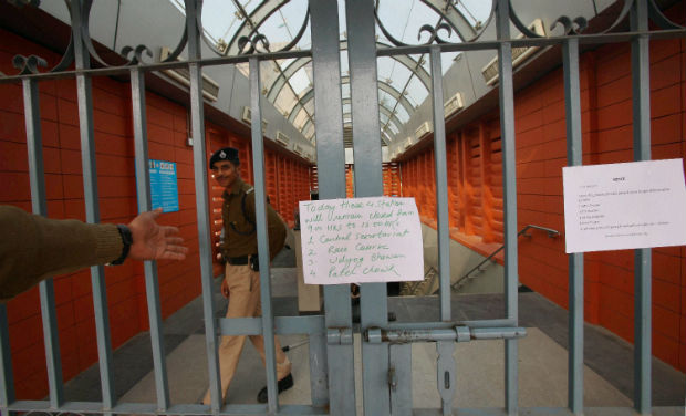 Metro stations, roads to be avoided in Delhi today