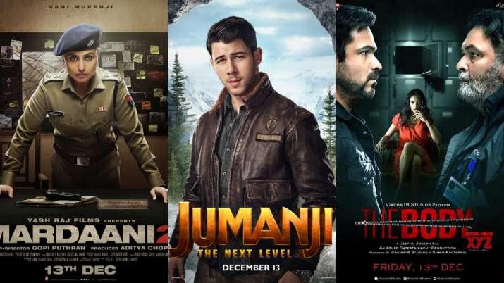 Latest News Rani Mukerji's Mardaani 2, Nick Jonas' Jumanji The Next Level, Emraan Hashmi's The Body