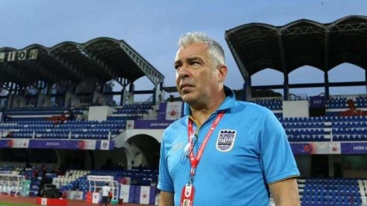 Mumbai City FC head coach Jorge Costa