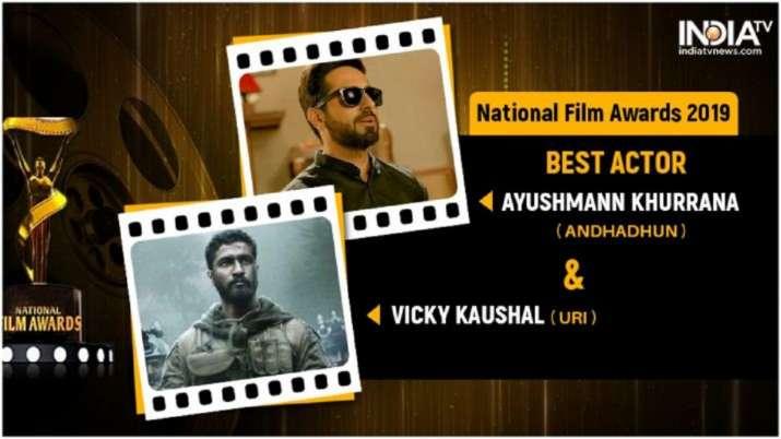 National Film Awards 2019 LIVE updates: Ayushmann Khurrana, Vicky Kushal to be honoured with best ac