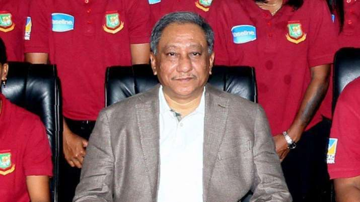 Bangladesh Cricket Board president Nazmul Hassan