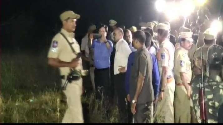 Hyderabad case: NHRC probe team examines bodies of accused