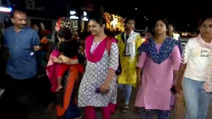 Hundreds of women participate in Night Walk