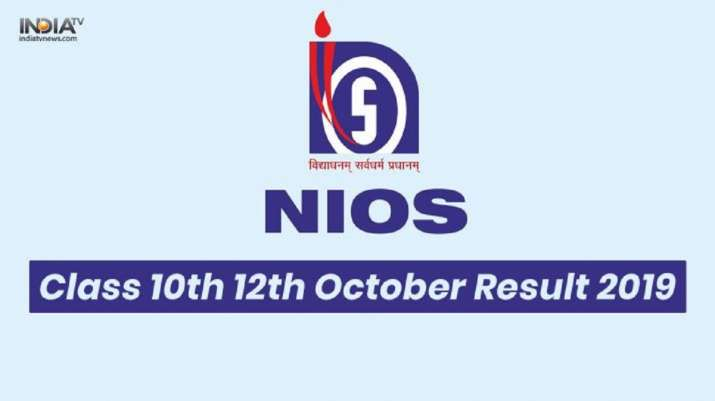 NIOS Class 10, 12 Results 2019: Direct link