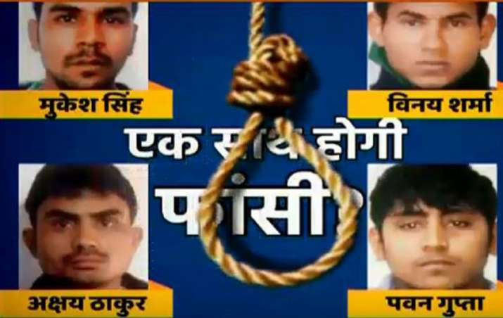 Death countdown pushes Nirbhaya's rapists under depression,