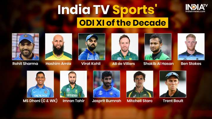MS Dhoni to lead as 4 Indians and 3 Proteas find place in ODI Team of the decade