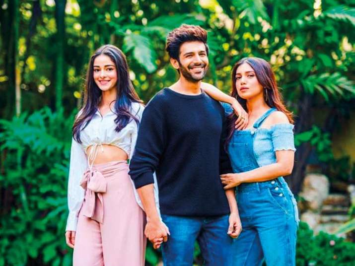 India Tv - Kartik Aaryan reacts to dating rumours with Ananya Panday