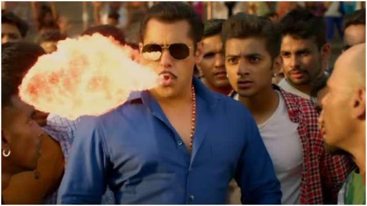 Salman Khan reacts to Hud hud Dabangg song controversy: