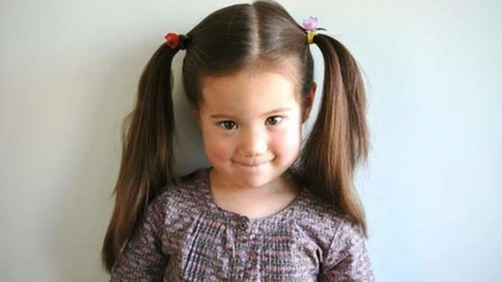India Tv - Trendy hairstyles for schoolgirls Double Ponytail