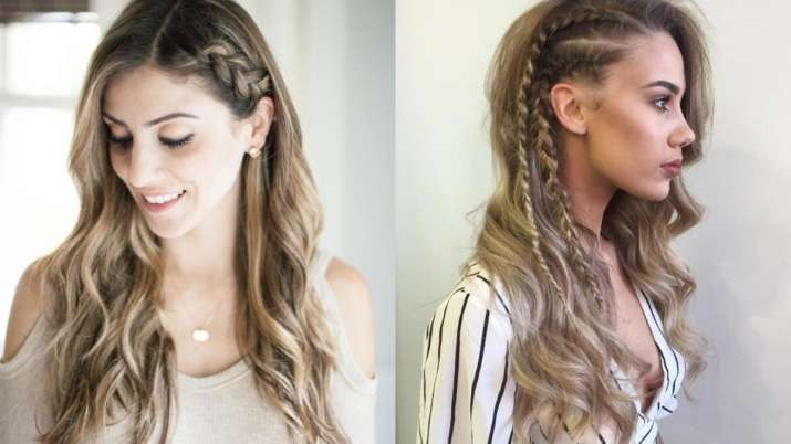 India Tv - Trendy hairstyles for schoolgirls Side Braids