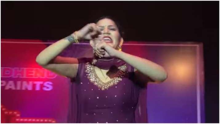 Sapna Choudhary latest dance video