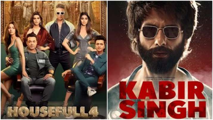 From Kabir Singh to War and Housefull 4: Highest grossing films of 2019
