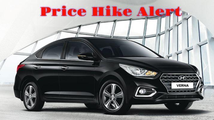 Hyundai Cars Including Verna I20 Creta To Be More Expensive From