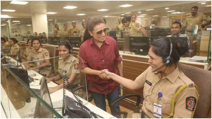 Mardaani 2 actress Rani Mukerji visits Police Control Room,